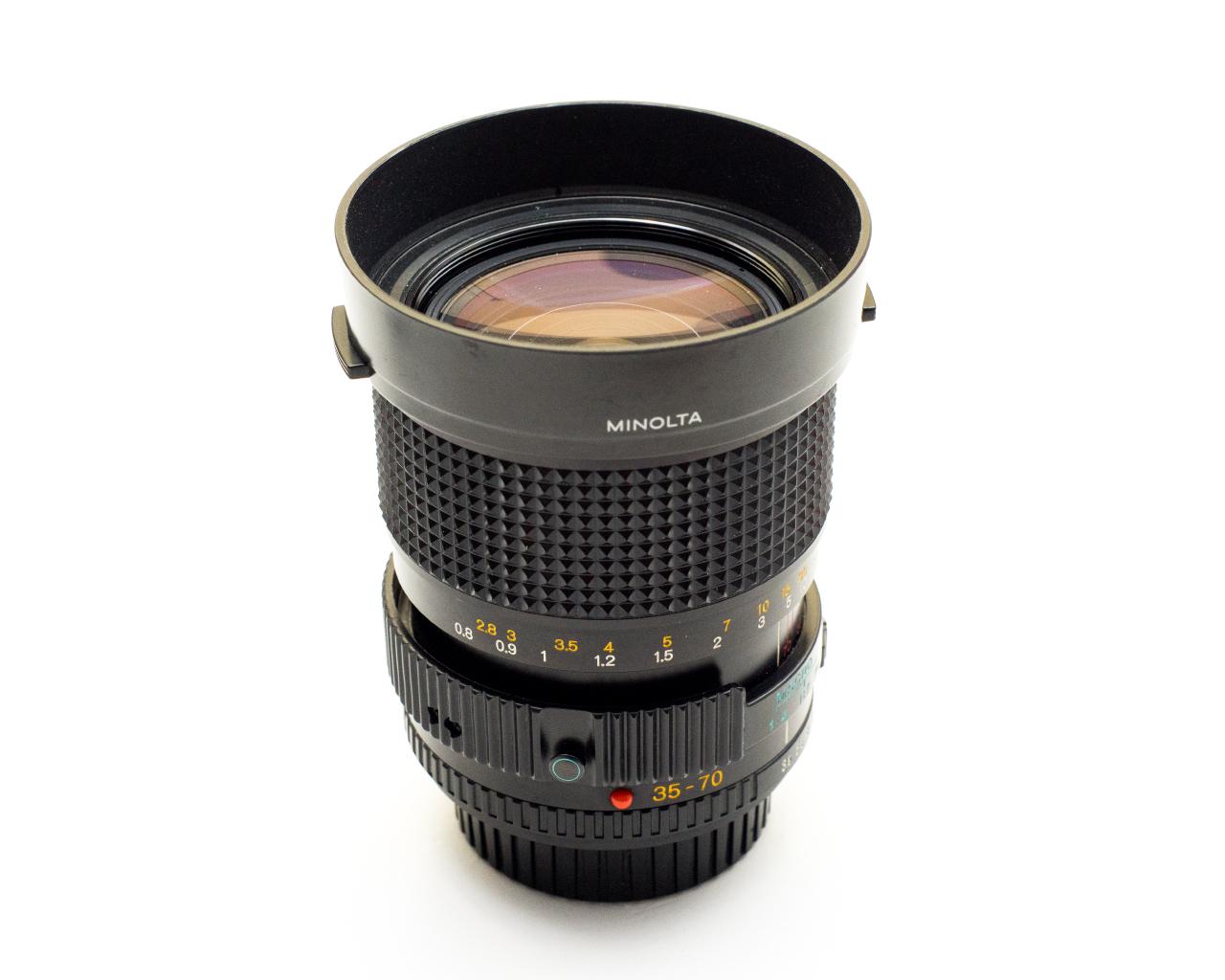 上图使用 Minolta MD 35-70mm f/3.5 拍摄