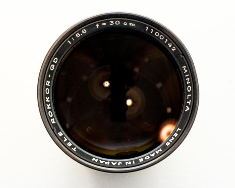 Tele Rokkor-QD 300mm f/5.6