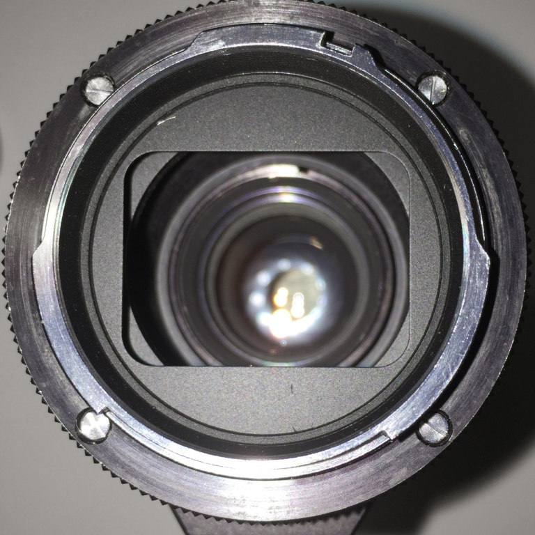Lens Mount of the Tele Rokkor-QD 300mm f/5.6